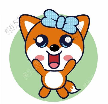 卡通狐狸表情包图片