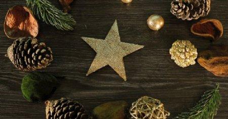 圣诞新年背景素材图片