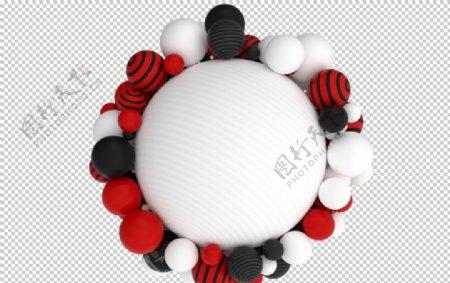 3D球球结构图片