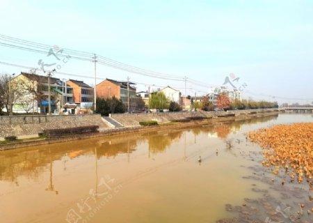 城市河道图片
