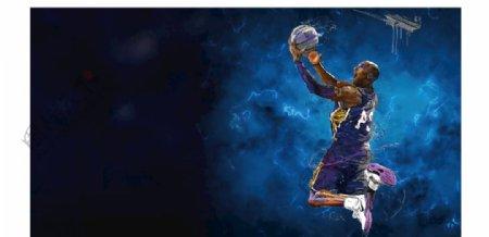 篮球背景图片