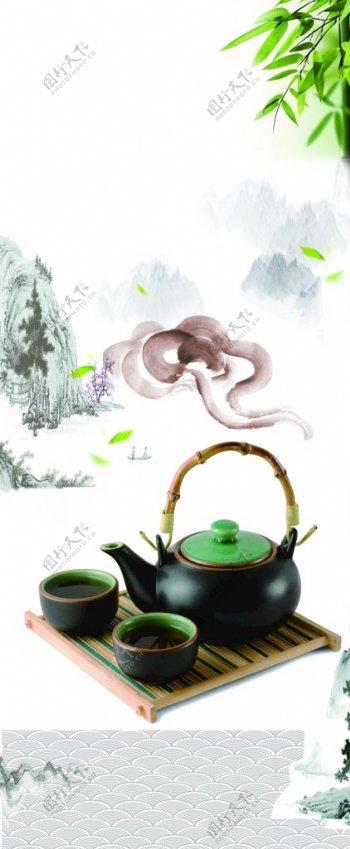 茶叶茶道茶文化茶叶素材图片