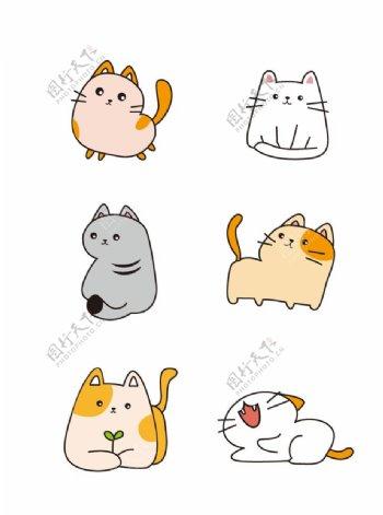 一组可爱的小猫图片