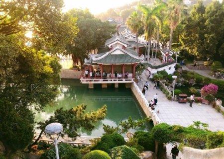 鼓浪屿菽庄花园图片