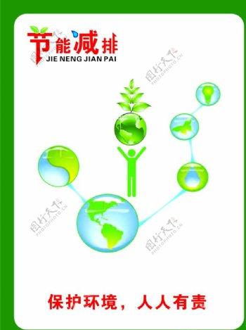 节能减排低碳出行图片