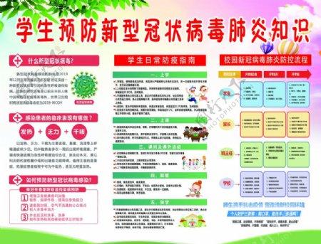 学生预防新型冠状病毒肺炎知识图片
